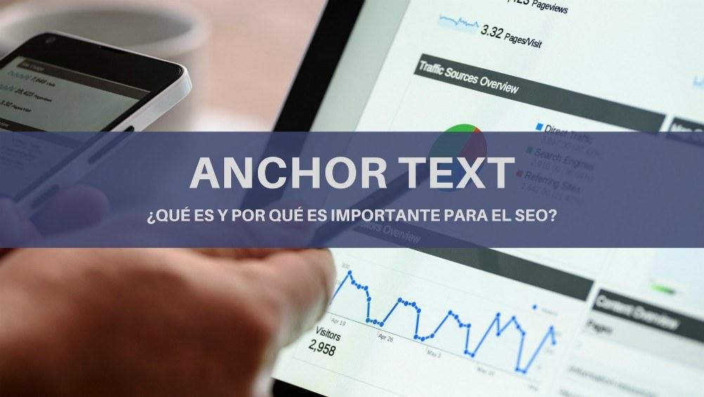 Anchor text: ¿qué es y por qué es importante para el SEO?