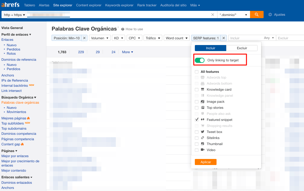 ahrefs-featured-snippets-link-to-target