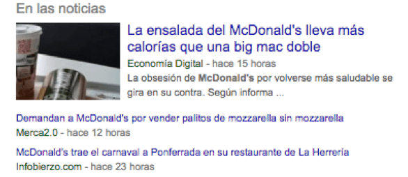 google news mcdonalds